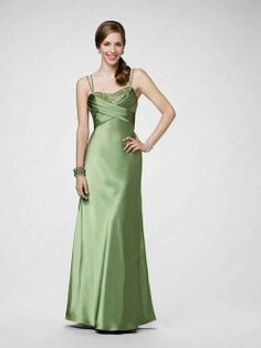 Spaghetti Straps Prom Dress
