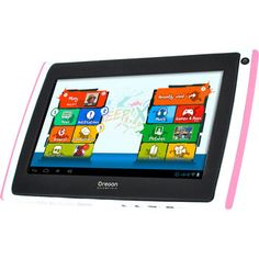 Tablette MEEP X2 Rose Yes, it comes in Pink as well as Orange!