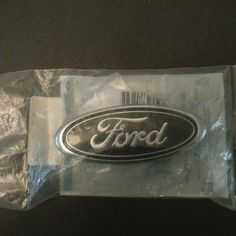 """1983-93 Ford Mustang """"Ford"""" Oval Grill Emblem"""