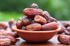 Healthy baking tip: Bake with recipes that use dates as a sweetener