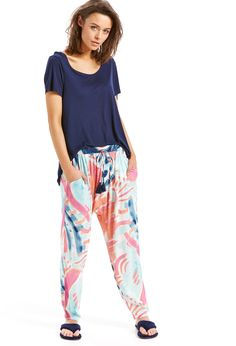 Image for Abstract Painting Pj Pant from Peter Alexander
