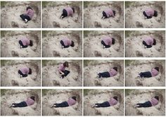 me finding a place in the sand