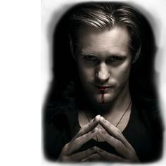 "Hands down my favorite vampire of all time. :""> Eric Northman (played by Alexander Skarsgard) from True Blood."