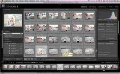 editing workflow tips by Liz La Bianca