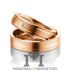 #verighete #aurroz model MDV 5072 #aur #roz pentru o #nunta de vis! Aur, 50 Euro, Karate, Wedding Rings, Belt, Engagement Rings, Accessories, Jewelry, Model