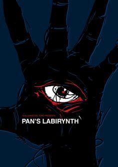 Pan's Labyrinth -minimal movie poster by Jacek Rudzki  topherdaniel's request