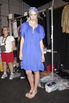 Diane von Furstenberg Spring 2008 - Backstage - marie de villepin