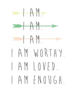 I Am Quotes, Happy Quotes, Woman Quotes, Positive Affirmations Quotes, Morning Affirmations, Quotes Positive, I Am Enough, I Am Worthy, Work Motivation