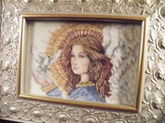 counted cross stitch Angel