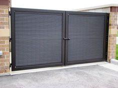 Image result for corrugated steel commercial gates