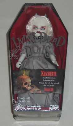 LIVING DEAD DOLLS - MEZCO - Series 24 - XEZBETH Living Dead Dolls, Creepy, Action Figures, Lunch Box, Cool Stuff, Toys, Ebay, Activity Toys, Toy