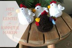 Een kippetje haken | Lentekriebels | Gewoon iets met Loes Crochet Hats, Amigurumi, Crocheted Hats