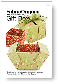 FabricOrigami Gift Box Pattern