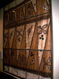 Polynesian Tapa Polynesian Art, Polynesian Culture, Tapas, Island Design, South Pacific, Island Life, Fiji, Roots, Indie