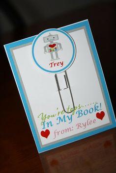 Kids school Valentines idea  www.cohenlane.com