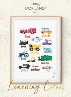 Boys Car Bedroom, Boy Car Room, Boys Bedroom Paint, Boy Toddler Bedroom, Baby Boy Rooms, Toddler Boy Room Ideas, Toddler Room Decor, Toddler Rooms, Boys Room Decor