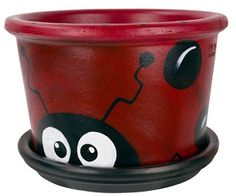 clay flower pot crafts | Found on tinahkauffman.blogspot.com