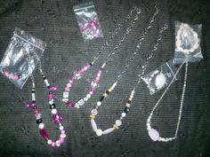 Mz.Succ3zz Unique Necklaces Sets 25.50ea
