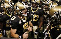 New Orleans Saints football. ♥