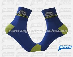 Socks designed by My Custom Socks for R.A.M.B.A. in Ishpeming, Michigan. Cycling socks made with Coolmax fabric. #Cycling custom socks - free quote! ////// Calcetas diseñadas por My Custom Socks para R.A.M.B.A. en Ishpeming, Michigan. Calcetas para Ciclismo hechas con tela Coolmax. #Ciclismo calcetas personalizadas - cotización gratis! www.mycustomsocks.com