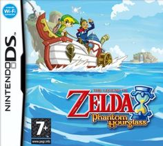 The Legend of Zelda: Phantom Hourglass - The game is a sequel to The Legend of Zelda: The Wind Waker and is set several months after the events of The Wind Waker. The game starts out like the opening of The Wind Waker, telling the story of what happe Nintendo Ds, Nintendo Switch, Nintendo Games, The Legend Of Zelda, Playstation, Xbox, Super Mario Sunshine, Final Fantasy Vii Remake, Wind Waker