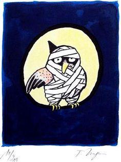 poor owl by Tomi Ungerer
