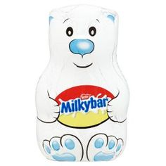 Buy Milkybar Hollow White Chocolate Figure online from Waitrose today. Best Chocolate, White Chocolate, Tesco Groceries, Stocking Fillers, Asda, Little Gifts, Polar Bear, Cocoa, Shopping