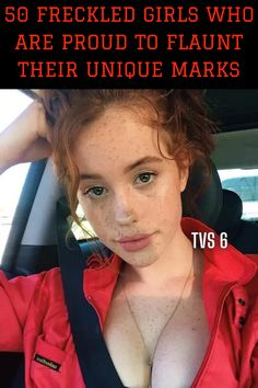Got freckles? Love freckles? Wish you HAD a cute smattering of freckles? Then you're going to adore the Freckled Girls of Reddit! Freckles, Unique, Cute, Kawaii