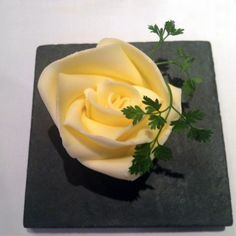 The Box Tree restaurant butter