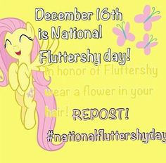 National Fluttershy day! :)