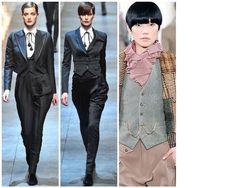 Dandy Look From left to right: Dolce & Gabana   Dolce & Gabana   Ralph Lauren