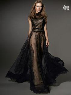 YolanCris | Vestidos de fiesta elegantes invierno 2015