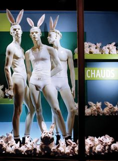 ♂ Commercial Space Retail design visual merchandising window display,