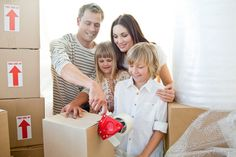 Moving with children - #Parenting #MovingTips