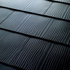 Metal Roofing - Embossed Shingles Collection - Black