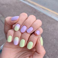 Color For Nails, Nail Colors, Cute Nails, Pretty Nails, Hair And Nails, My Nails, Kawaii Nails, Minimalist Nails, Dream Nails