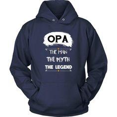 """Opa The Man, The Myth, The Legend"" T-Shirt"