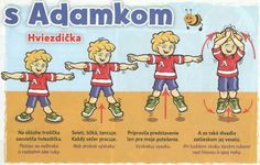 Children, Kids, Exercise, Education, Comics, Young Children, Young Children, Ejercicio, Boys