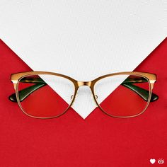4136b16cfa Wrap up your holiday look with vintage vibes in these classic shaped  glasses from Vogue.