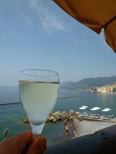 """Pranzo, Ristorante di """"Hotel Cenobio dei Dogi"""", Camogli Liguria Italia (Luglio)"""
