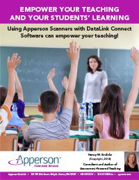 Testing alone does nothing to improve teaching or learning. Too often teachers don't use the results of classroom tests. Apperson DataLink Connect software provides teachers with valuable information about what students know and what they don't know.
