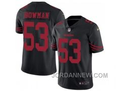 http://www.jordannew.com/youth-nike-san-francisco-49ers-53-navorro-bowman-black-stitched-nfl-limited-rush-jersey-discount.html YOUTH NIKE SAN FRANCISCO 49ERS #53 NAVORRO BOWMAN BLACK STITCHED NFL LIMITED RUSH JERSEY FOR SALE Only $23.00 , Free Shipping!
