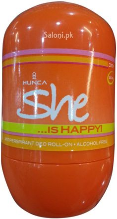 HUNCA SHE IS HAPPY ROLL-ON DEODORANT 40 ML Saloni™ Health