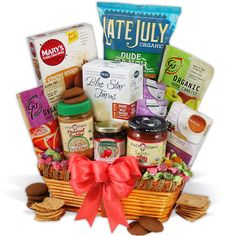 Organic Gift Basket Classic | Care Packages and Gifts | OCM.com