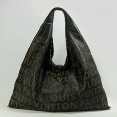 Louis Vuitton Handbags,Super Louis Vuitton Whisper Cow Leather Shopping Bag-Black 07838-$