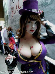 Hot cosplay girls boobs
