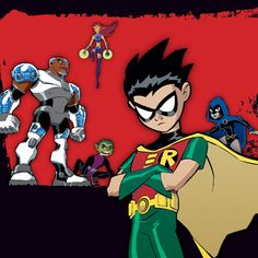 A boy last year got me started on teen titans. At first, I had no interest, unfortunately, it wasn't till I moved away when I became obsessed and fell in love with it