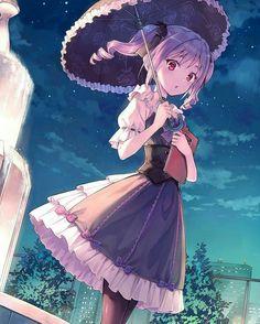 anime, anime girl, and kawaii Anime Girls, Anime Girl Cute, Beautiful Anime Girl, I Love Anime, Anime Art Girl, Gothic Anime Girl, Gothic Lolita, Manga Kawaii, Loli Kawaii