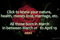 Aries Rising Sign Health Wealth and Love Find Your Zodiac Sign, Best Zodiac Sign, Zodiac Signs Aries, Aries Facts, Virgo And Pisces, Virgo Love, Zodiac Love, Taurus, Virgo Best Match