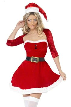 Red Santa Belle Costume